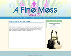 A Fine Mess Web Site Shot
